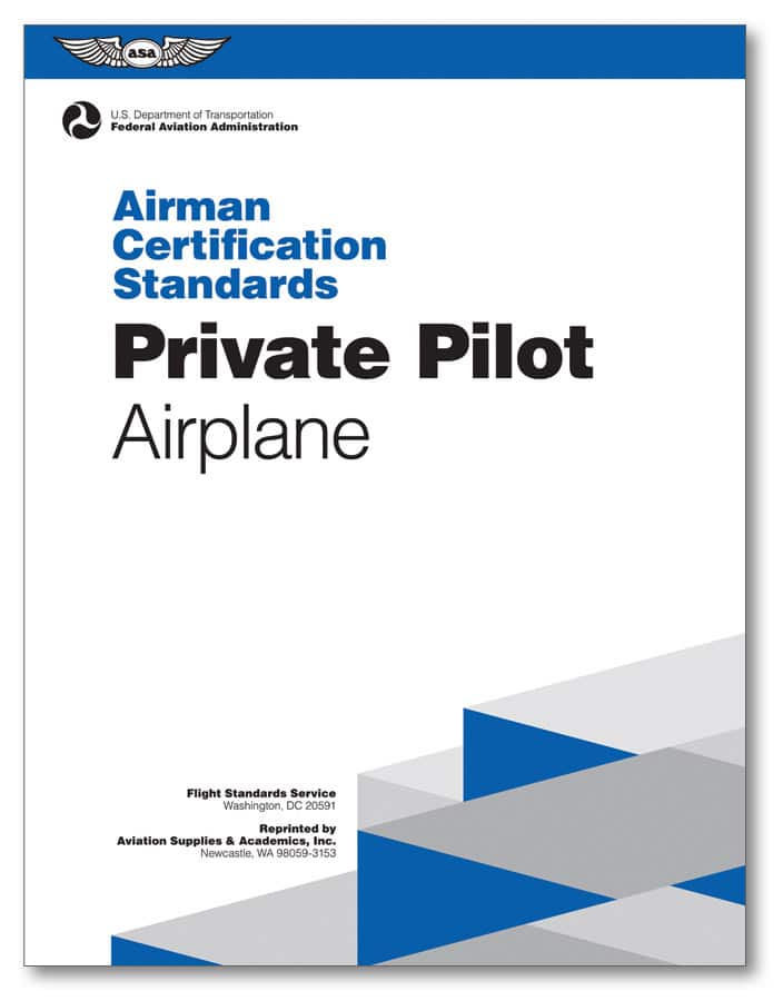 New Editions Of Faa Airman Certification Standards Shipping Soon
