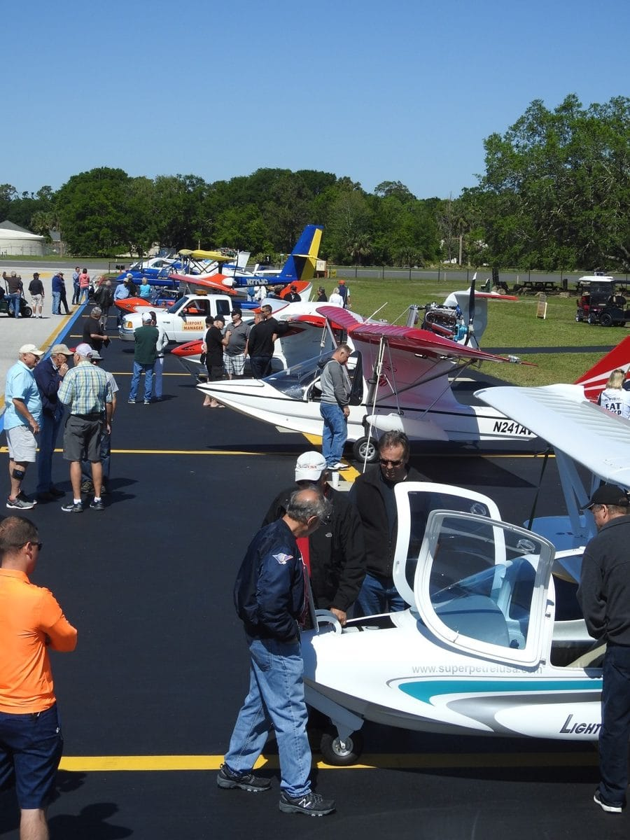 A drool-worthy collection of LSA seaplanes