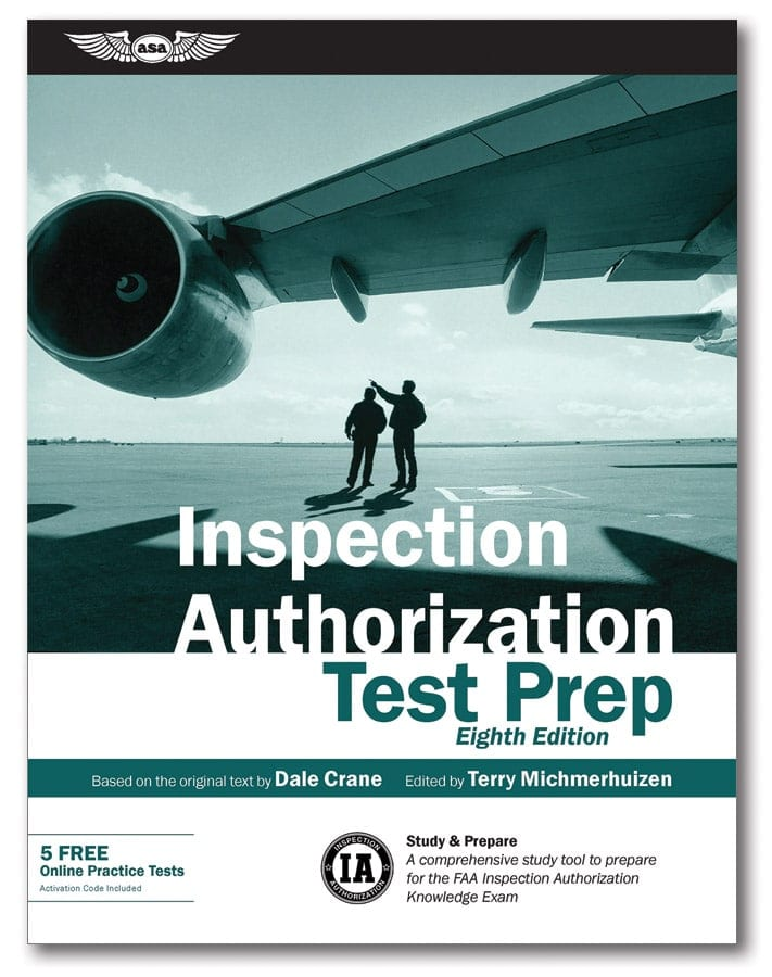 Latest edition of Inspection Authorization Test Prep released