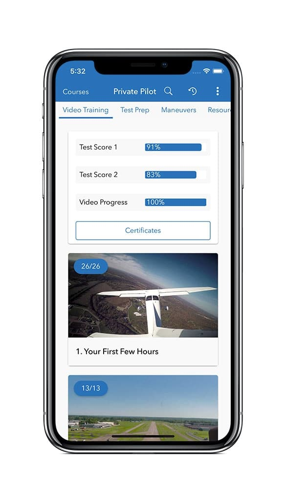 Sporty's Pilot Training App adds new test prep features and
