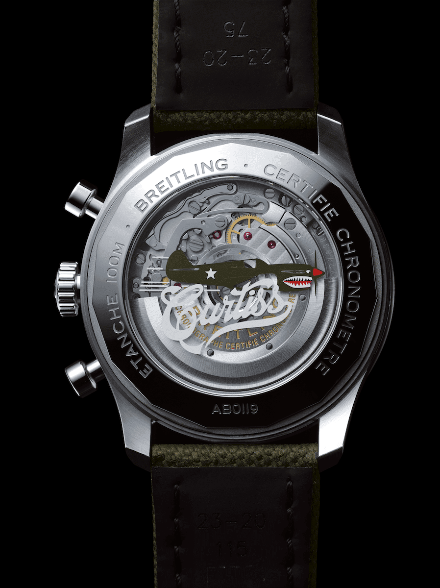 47973102a5d New Breitling watches commemorate the P-40 Warhawk
