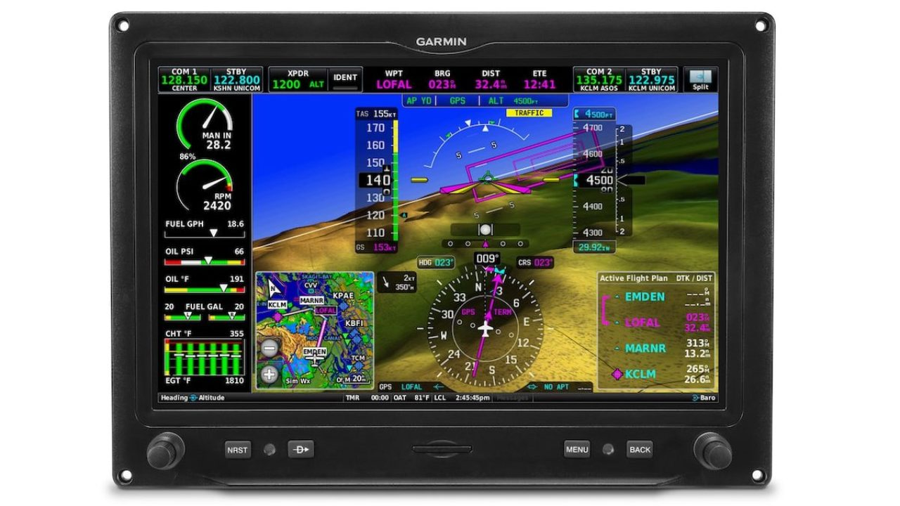 Garmin G3X Touch certified for single-engine piston aircraft