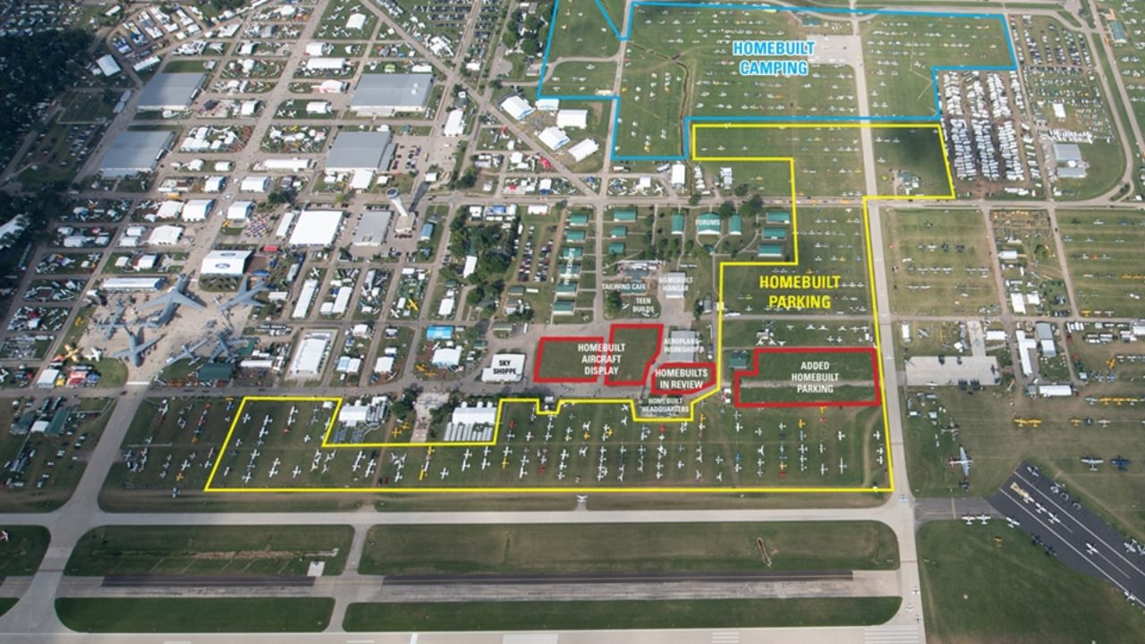 Homebuilts area enhanced for AirVenture 2019