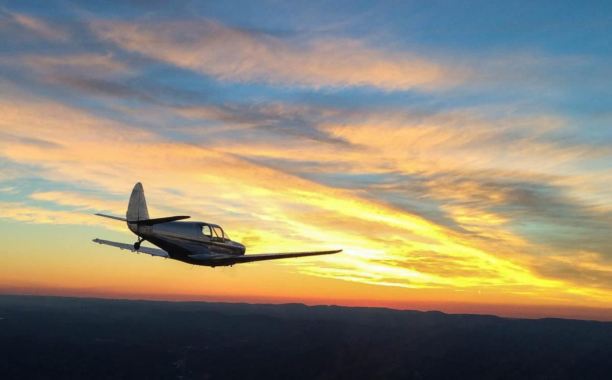 Picture of the Day: Swift sunset