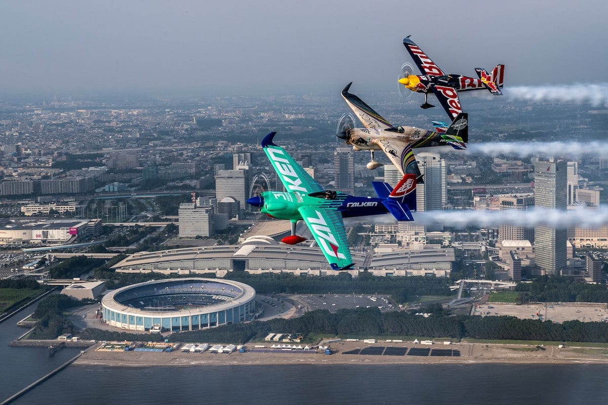 Final Red Bull Air Race prepares for takeoff