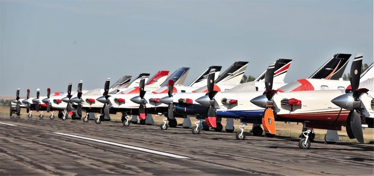 More than 100 aircraft attend TBM convention