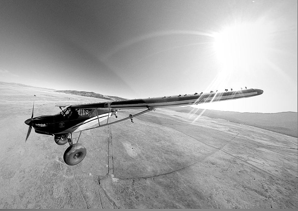 Picture of the Day: Suspended over the Sierra Valley
