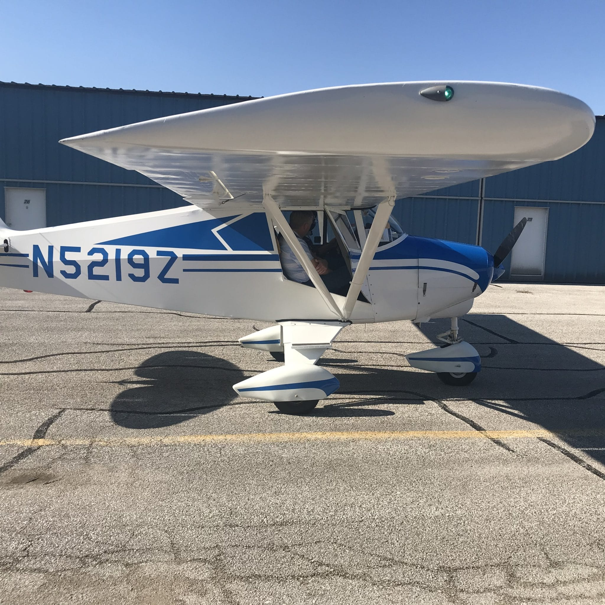 Picture of the Day: New owner's first flight