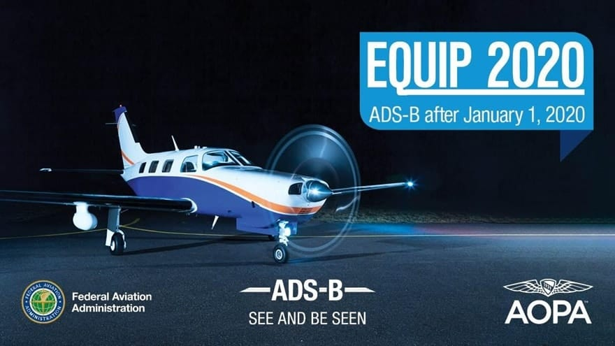 Still don't have ADS-B? What happens to you Jan. 1, 2020?