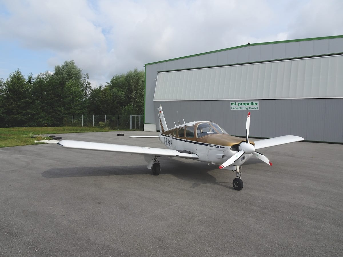 MT-Propeller awarded STC for new prop on Piper PA-28R