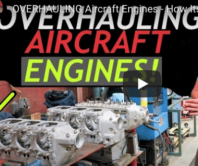 Ever wondered what goes into overhauling an aircraft engine?