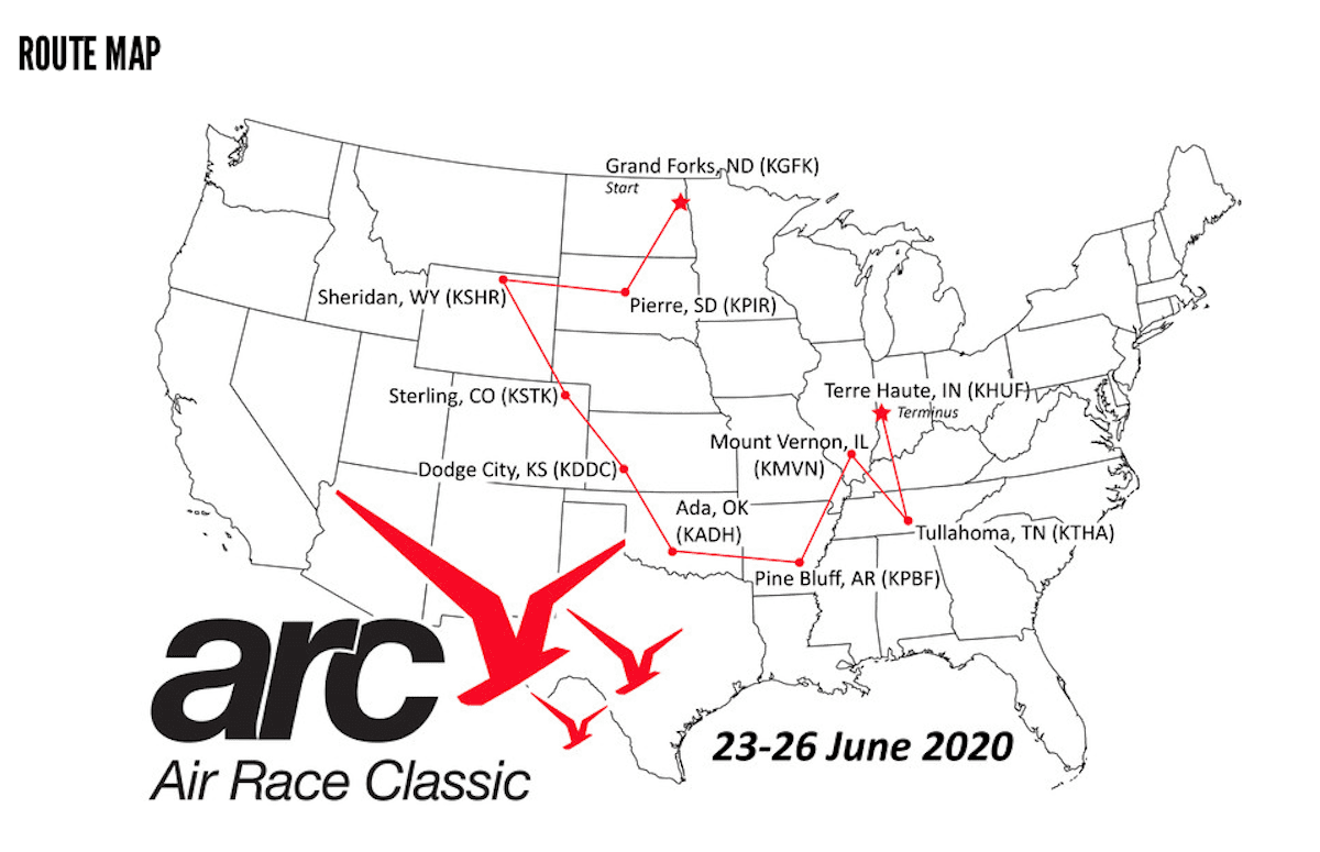 Registration opens for 44th Air Race Classic