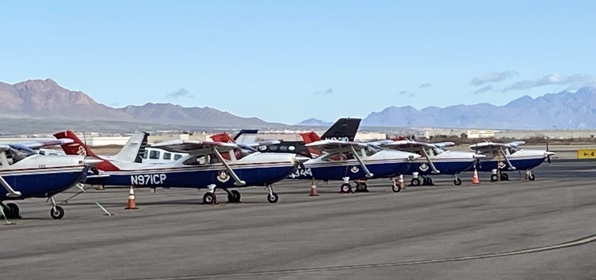 Civil Air Patrol helps prepare National Guard for deployment to DC