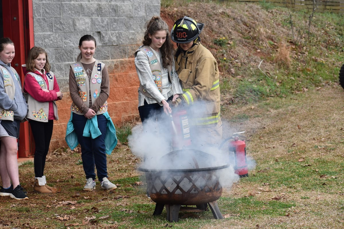 Girl Scout comes to the aid of S.C. airpark community