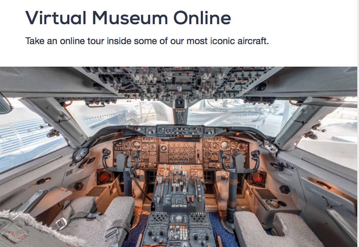 The Museum of Flight at Home debuts