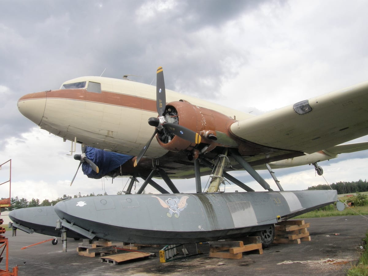 Have you ever seen a DC-3 on floats?